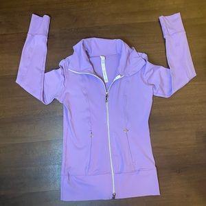 Lululemon Purple zip up Jacket - 4